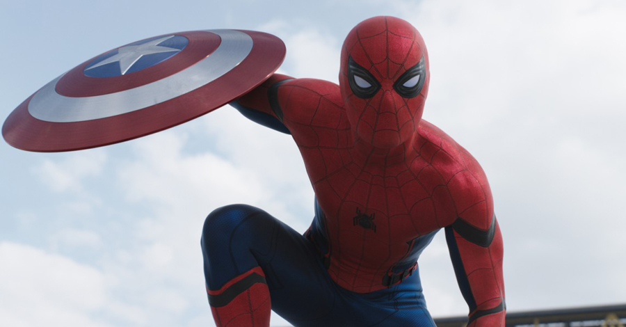 """""""Spider-Man: Homecoming"""" Set Video Captures Tom Holland's Spidey Moves"""