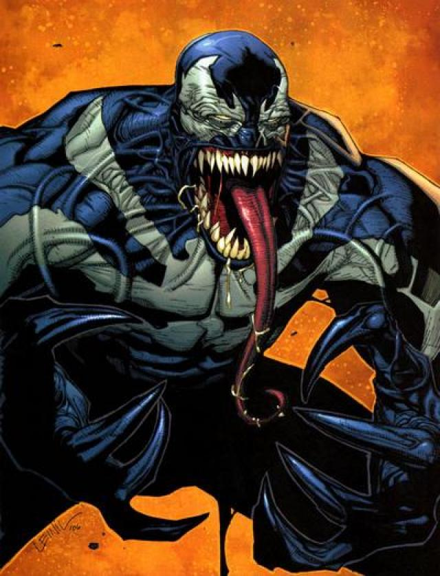 Point. venom spiderman face licking porn