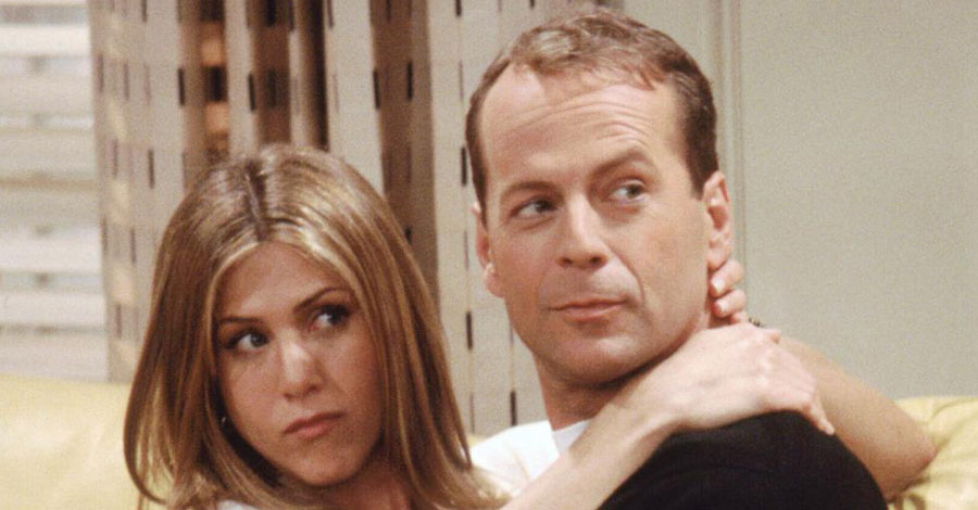 tv legends revealed did bruce willis appear on friends