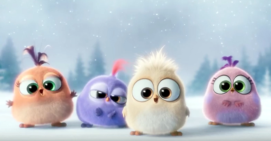 the angry birds movies hatchlings deliver holiday cheer in new promo cbr