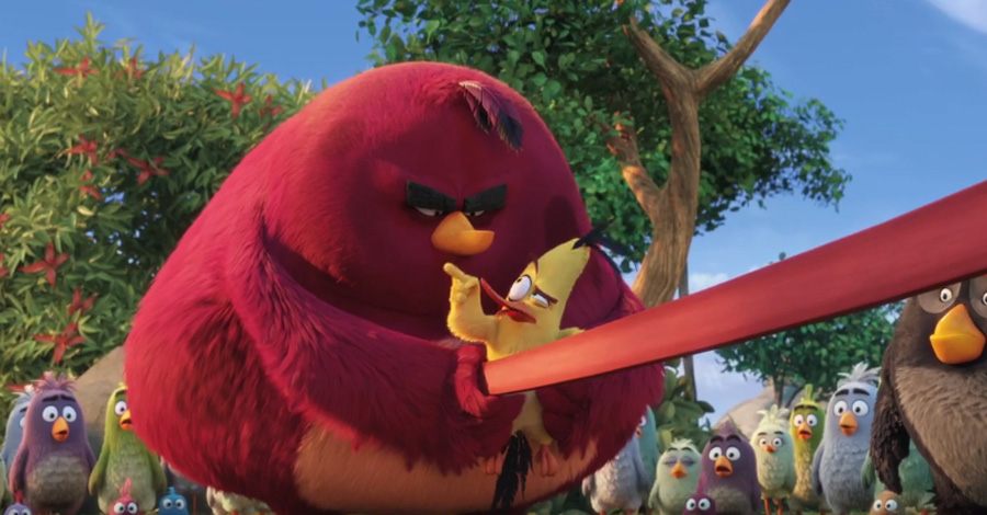 angry birds prepare for battle in new movie trailer cbr